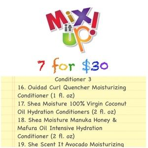 Mix It Up! Bundle Box (Conditioner 3)